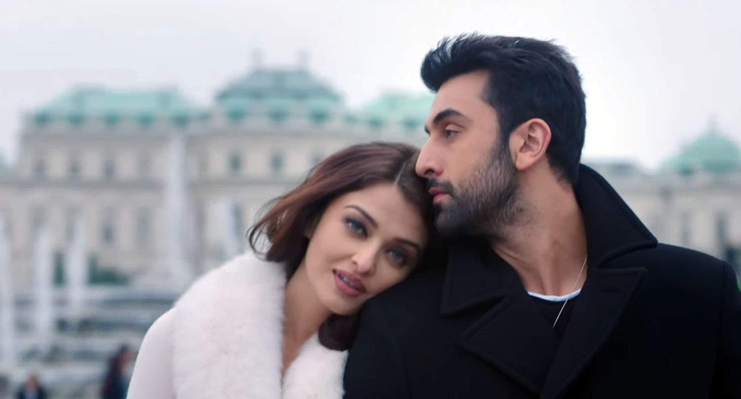 aishwarya-rai-bachchan-ranbir-kapoor-in-ae-dil-hai-mushkil-movie-still-2