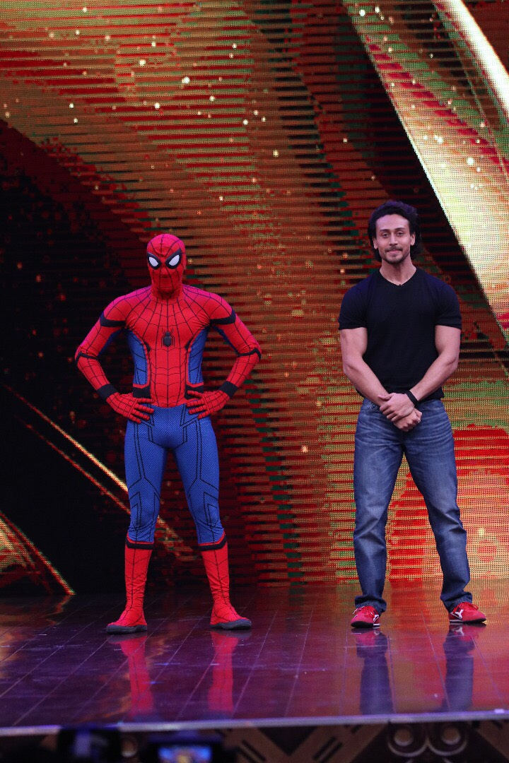 Tiger Shroff and Spider-Man